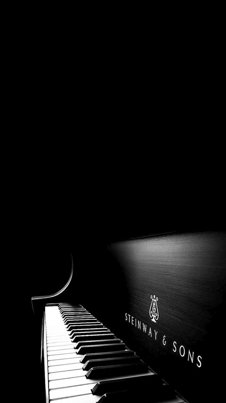 Iphone 5 wallpaper tumblr music - Black White Piano Iphone 6 Wallpaper