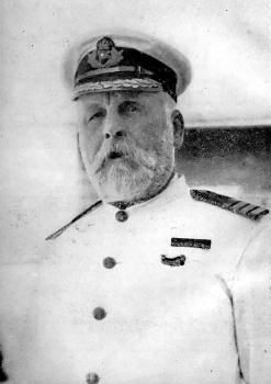 Historic photograph of Captain Edward Smith of the RMS Titanic