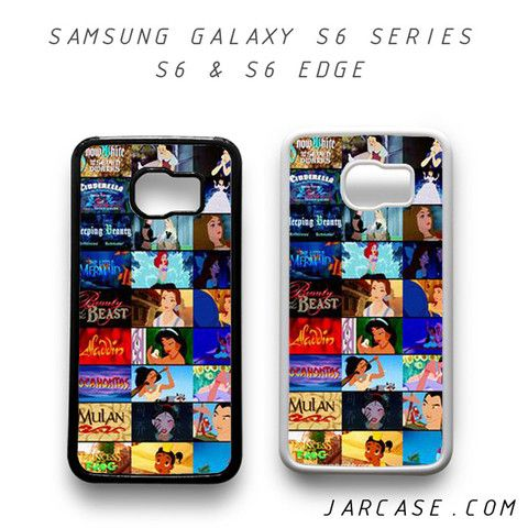 disney movie collage Phone case for samsung galaxy S6 & S6 EDGE