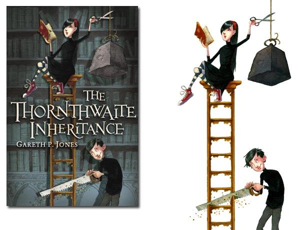 Adam Stower - The Thornthwaite Inheritance. Love this cover!