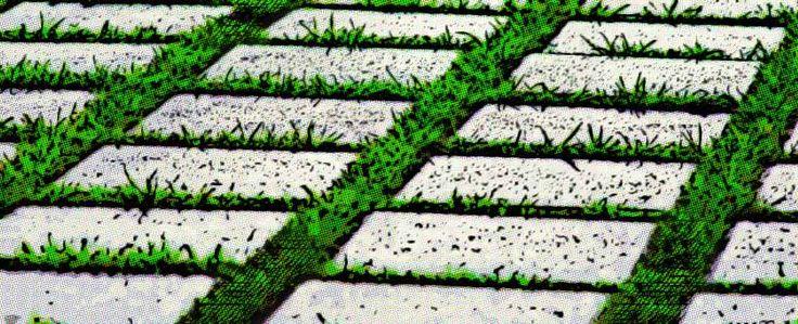 Baldosas de cemento para c sped senderos tiles y con - Baldosas para cesped ...