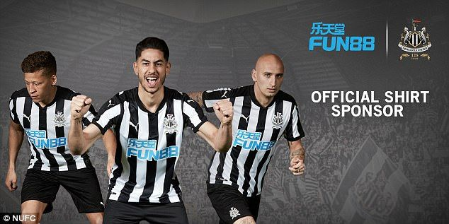 Newcastle United have launched their new home kit for the 2017-18 Premier League season