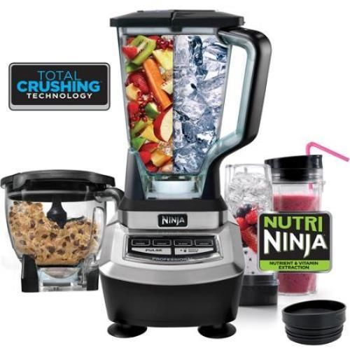 Ninja Kitchen System 1200: Ninja Supra Kitchen System BL780 3-Speeds Blender