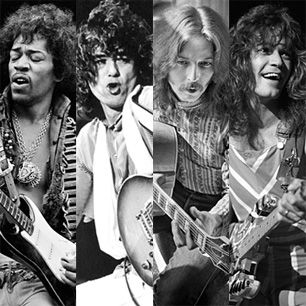 100 Greatest Guitarists We assembled a panel of top guitarists and other experts to rank their favorites and explain what separates the legends from everyone else. Featuring Keith Richards on Chuck Berry, Carlos Santana on Jerry Garcia, Tom Petty on George Harrison and more.