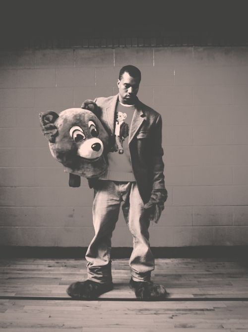 When Kanye was the man....college dropout