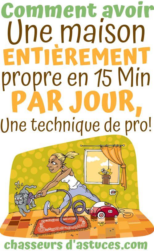 Remark nettoyer sa maison en 15 MIN par jour