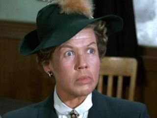 Kathleen Freeman - she played General Burkhalter's sister, who he kept trying to marry off to Klink