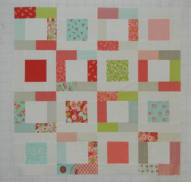 Tutorial  ~  cute easy/peazy charm quilt    ~  Um...so I started another quilt today by Don't Call Me Betsy, via Flickr