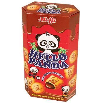Hello Panda Chocolade biscuit 50g