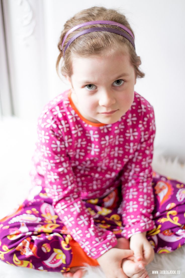 theblogbook | sewing | pj's, kids, lillestoff, mia maigrün, paisley