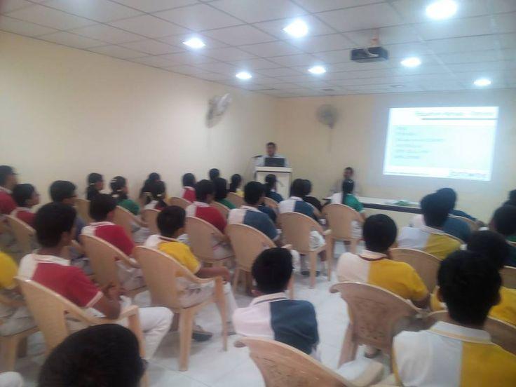 Seminars happened across India last week at Shalom Hills International School, Gurgaon Aditya Birla Public School, Ahmedabad Lalitha college of pharmacy, Hyderabad SIWS college, Mumbai  CVSR, Hyderabad and so on...