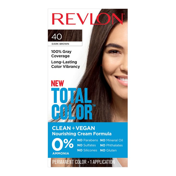 Revlon Total Color Permanent Hair Color Clean And Vegan 100 Gray Coverage Hair Dye 63 Light Golden Brown 5 94 Fl Oz Walmart Com Grey Hair Coverage Gray Coverage Hair Color Light Brown