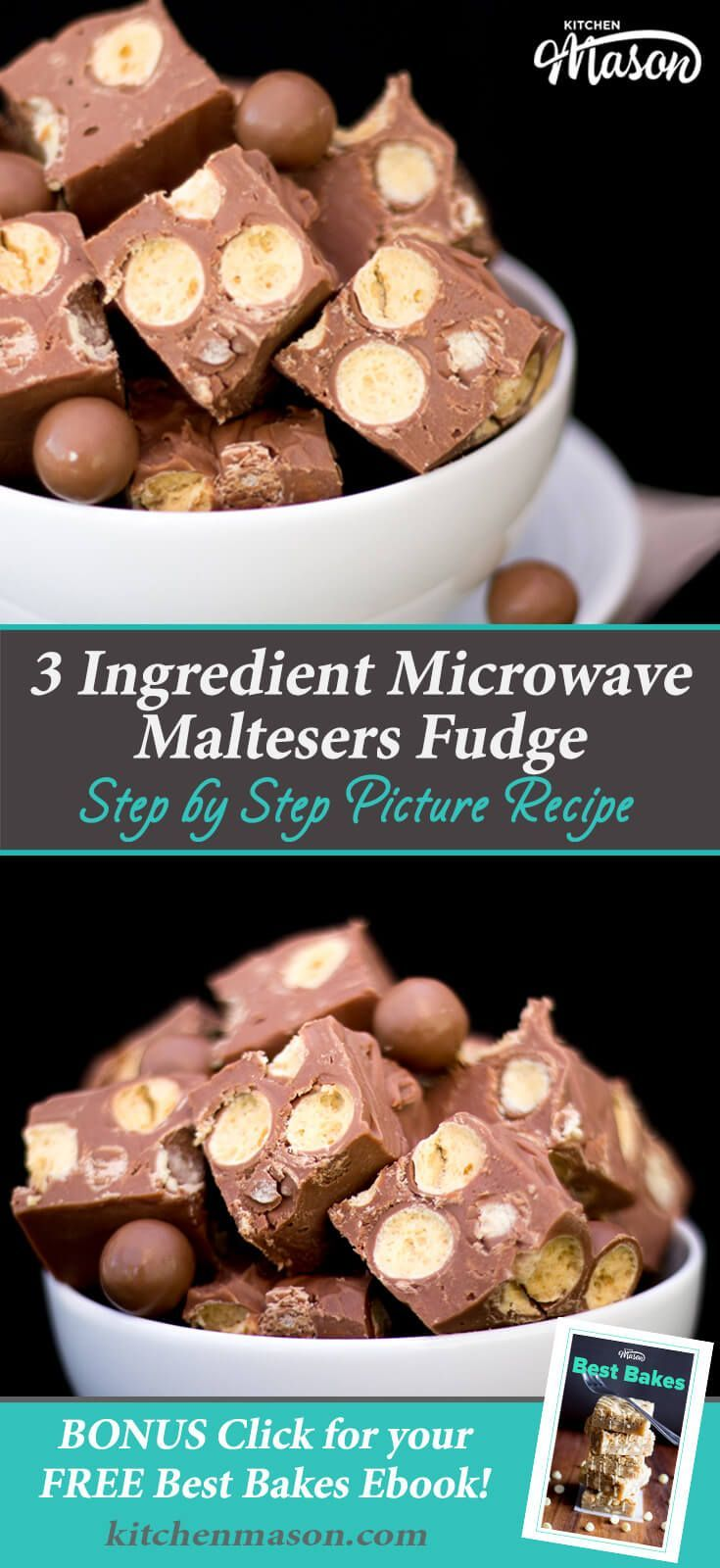 Maltesers Fudge | Easy Fudge Recipes Easy Microwave Fudge Recipes