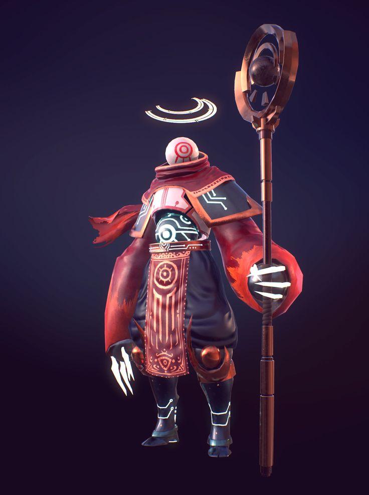 Temple Keeper, Sebastián Montecinos on ArtStation at https://www.artstation.com/artwork/3bONv