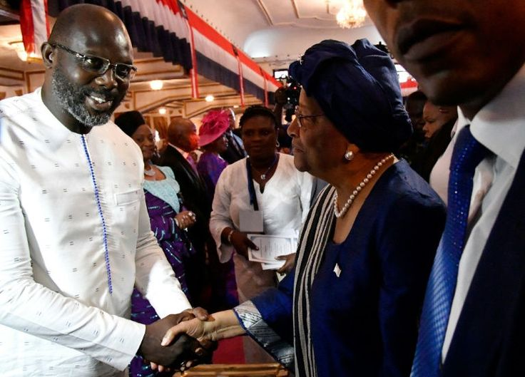 George Weah to be sworn in with Liberian hopes sky-high