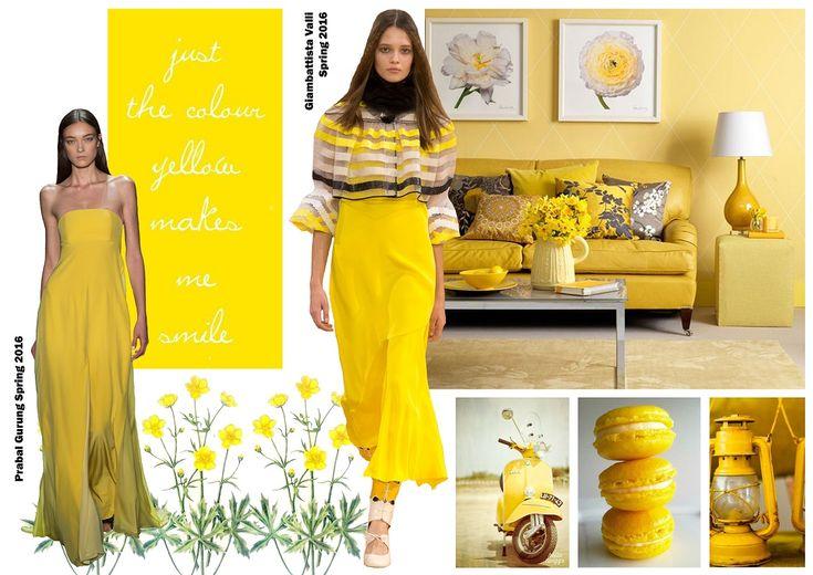 Color trends Spring 2016 - Buttercup / Divatszínek 2016 tavasz - Boglárkasárga