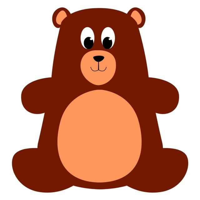 Teddy Bear Illustration Vector On White Background Vector Illustration Bear Png And Vector With Transparent Background For Free Download Bear Illustration Bear Images Bear Cartoon