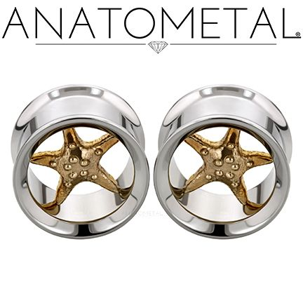 "5/8"" Standard Eyelets in ASTM F-138 stainless steel with bronze Starfish Inserts"