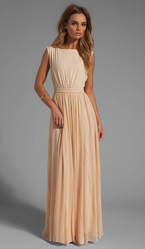 Comprar Alice + Olivia Triss Sleeveless Maxi Dress with Leather Trim em Almond Cream at REVOLVE. Devolução e envio de 2 a 3 dias grátis, correspondência de preço de 30 dias garantida