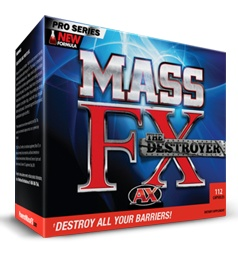 Mass FX does one thing only - it boosts your testosterone. It does this by preventing SHBG (Sex Hormone Binding Globulin) from binding to testosterone.
