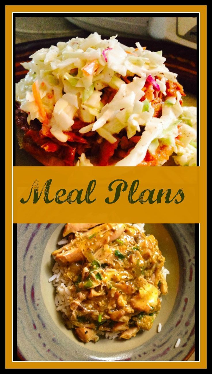 Here are some Meal Plans that will save your family time & money! Feel free to copy these exact plans! Visit www.onlygirl4boyz.com for more ideas!