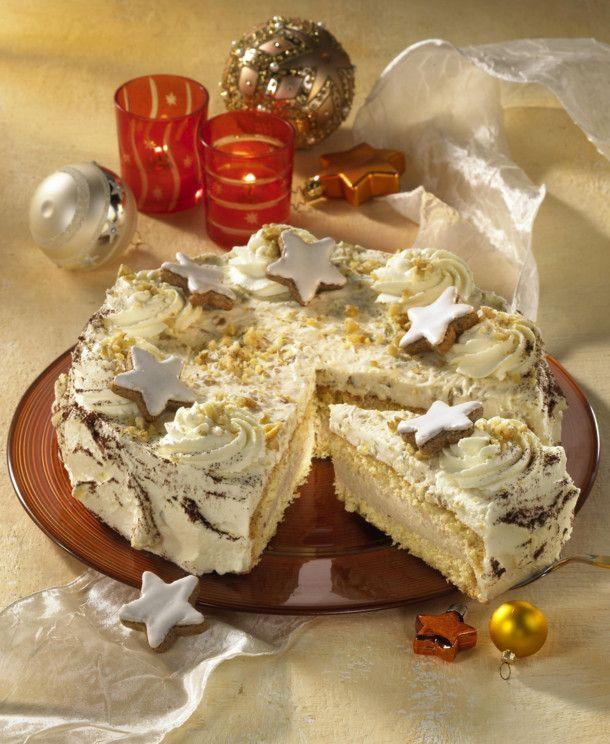 Unser beliebtes Rezept für Baileys-Zimtsahne-Torte und mehr als 55.000 weitere kostenlose Rezepte auf LECKER.de.