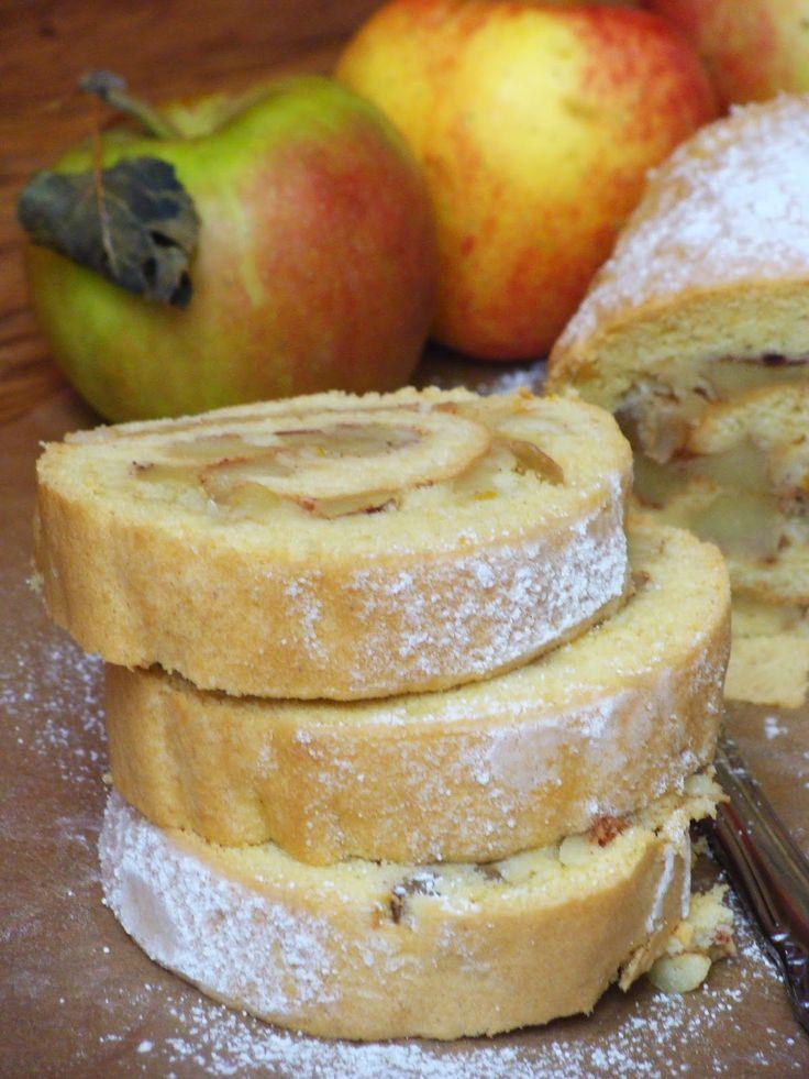 Izioni pyszne smaki: Rolada z jabłkami