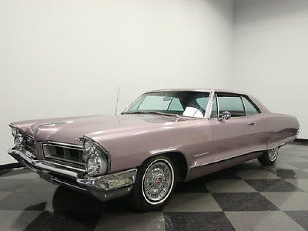1965 Pontiac Grand Prix ORIGINAL COLORS IN & OUT, 389 V8, AUTO, BUCKETS, PS, PB, CLEAN, GREAT CRUISER!!