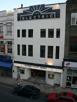 Electric Cinema in Birmingham, UK is the country's oldest working cinema opening it's doors for the first time in 1909