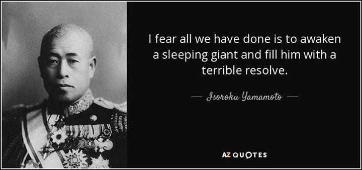 Isoroku Yamamoto, architect of Pearl Harbor...