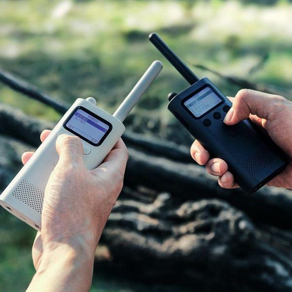 XIAOMI MIJIA UHF/VHF Dual Band Handheld Walkie Talkie Bluetooth 4.0 Walkie Talkie with FM Radio