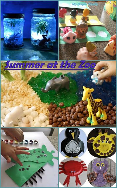 Fun with Zoo Animals for Kids. Summer at the Zoo Preschool Activities. Welcome, Summer!