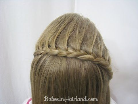 Best Hairstyle Video Images On Pinterest Basket Weave Braid - Video girl hairstyle