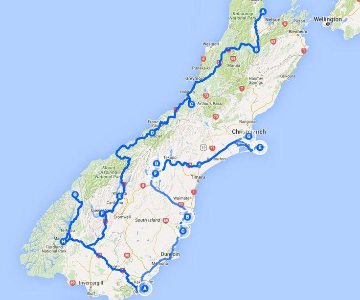 Die besten Routen und Highlights für die Nord- und Südinsel mit Karten und allen wichtigen Infos!