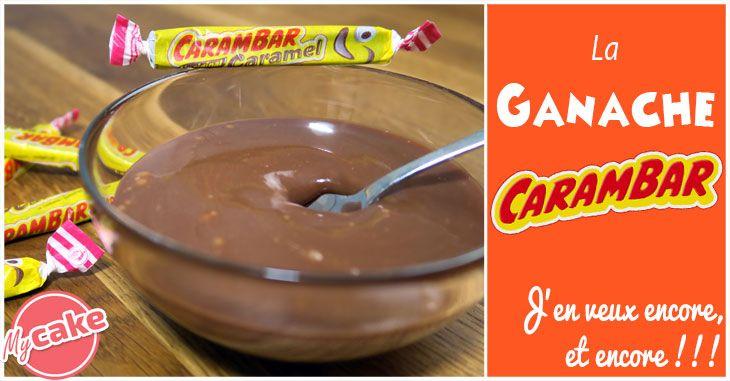 Voilà une nouvelle recette interdite tellement elle est bonne et simple à faire, la Ganache Carambar. Avec son onctueux goût caramel, elle vous fera fondre!