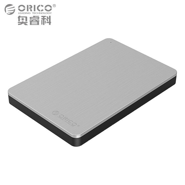 ORICO Aluminium Boîtier de Disque Dur USB3.0 5 Gbps 2.5 pouce Soutien 7mm et 9.5mm