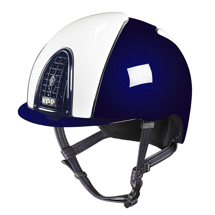 White and blu, a frontal view.   KEP Italia lets you chose your style, always making sure you are safe!