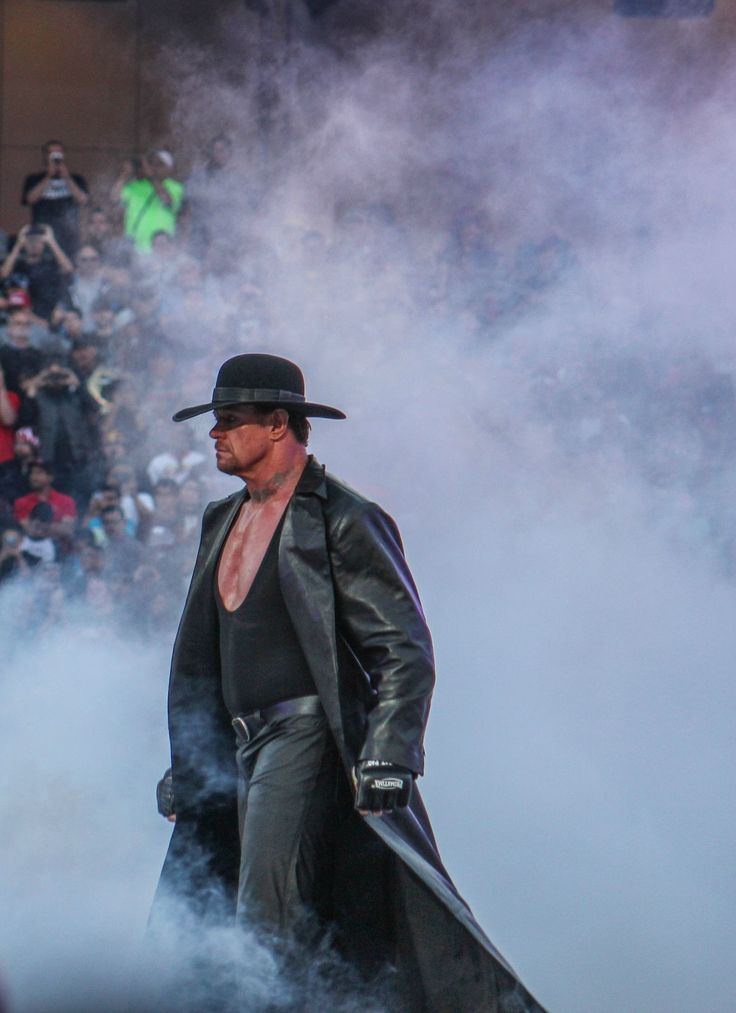 The Undertaker hace su entrada en WWE WrestleMania 31 (29/03/2015) / Photo by: razorsedge316 - Imgur.com