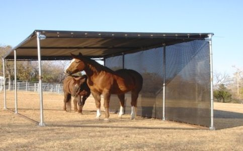 Portable Uv Screens For Horse Shade Www Windscreensupply