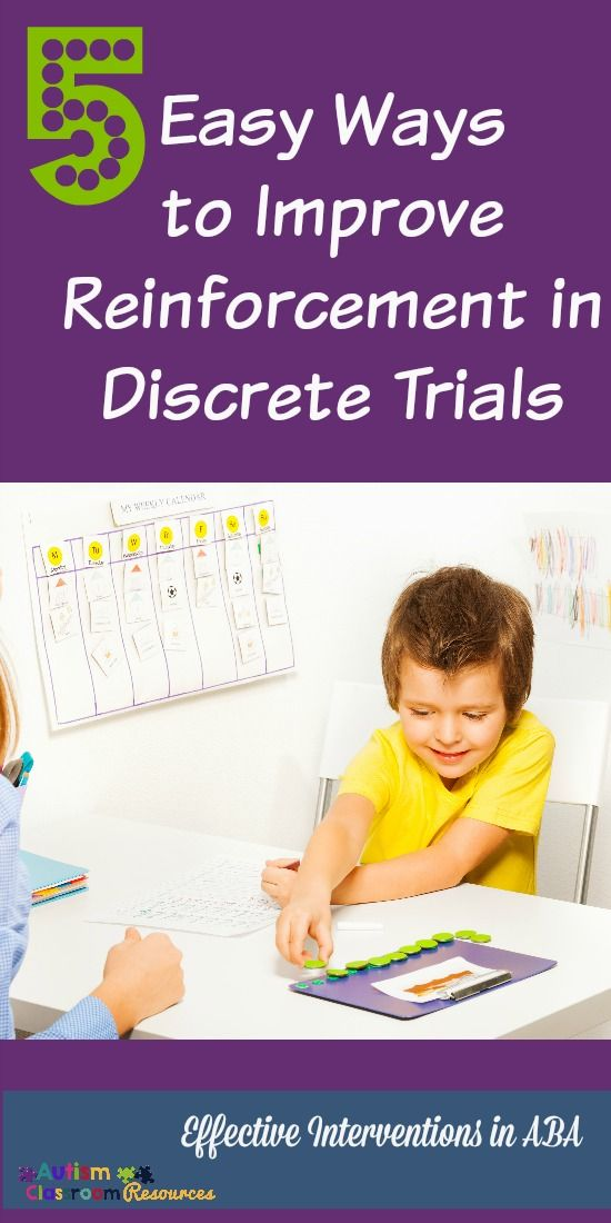5 Easy Ways to Improve Reinforcement and Learning in Discrete Trials