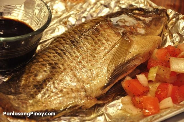 images of tilapia recipes | Grilled Tilapia Recipe | Panlasang Pinoy