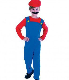 Let's Party With Balloons - Mario Plumber Boy Toddler's Costume, $25.00 (http://www.letspartywithballoons.com.au/mario-plumber-boy-toddlers-costume/)