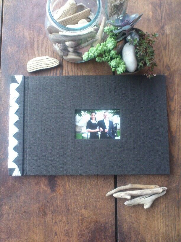 Classical album with Japanesse binding. Size 35 x 25 cm