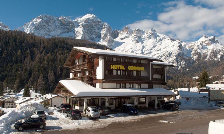 L'hotel Corona d'inverno