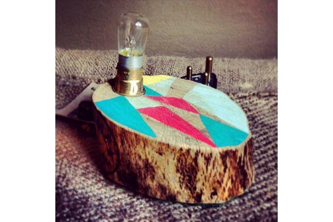 Flat Tree Stump Light (small)  by Beards & Banjos on hellopretty.co.za
