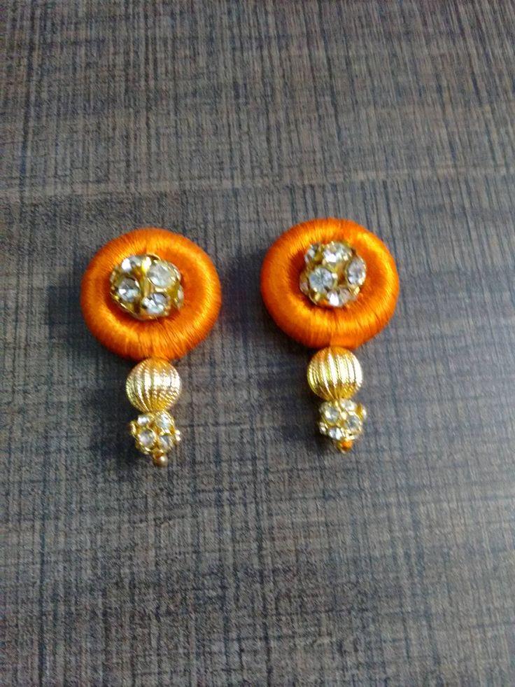 Silk Thread Jewelry hobby class in chennai