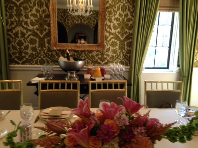 Bridal Shower Mimosa Bar Station At The Rosewood Mansion Turtle Creek In Dallas