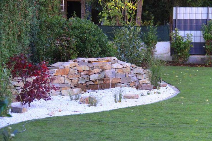 Gartengestaltung Peter Reinisch Neugestaltung Garten mit - teich wasserfall modern selber bauen