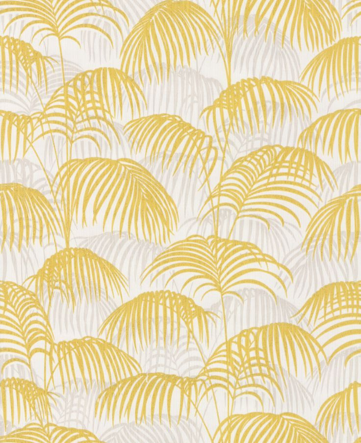 Brighton Pavilion Palm Chartreuse wallpaper by Architects Paper