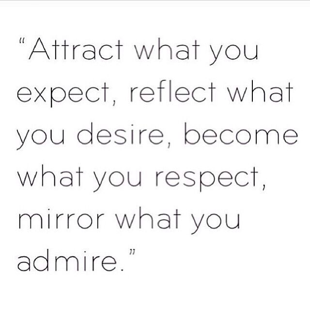 #attract what you #expect... #quote
